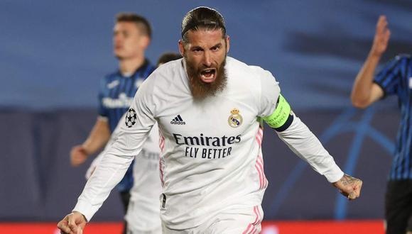 Sergio Ramos le señaló a Florentino Pérez que no continuará en el Real Madrid. (Foto: EFE)
