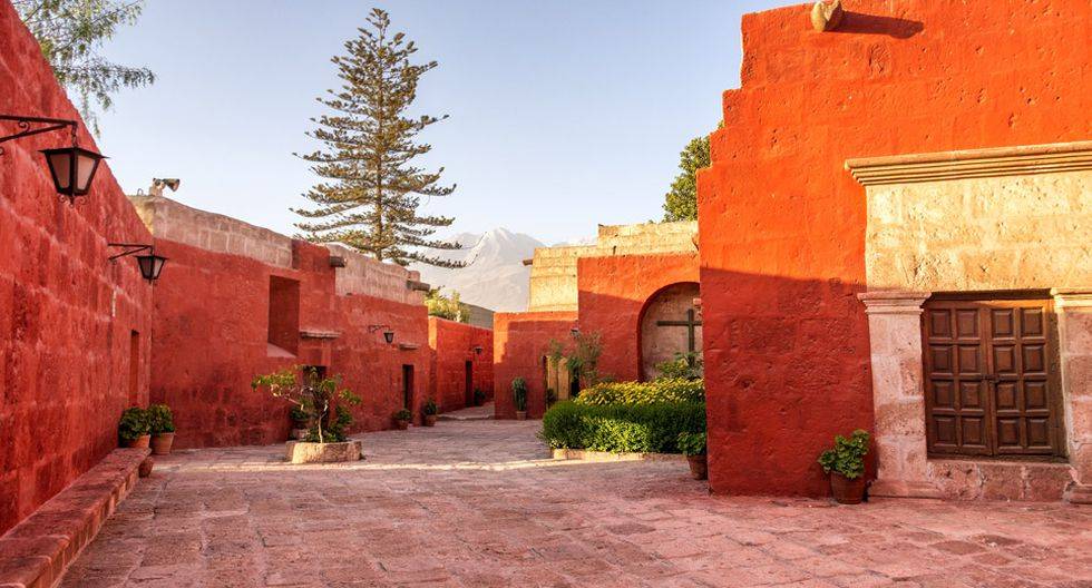 El mayor atractivo de este monasterio son sus construcciones hechas en sillar.(Foto: Shutterstock)