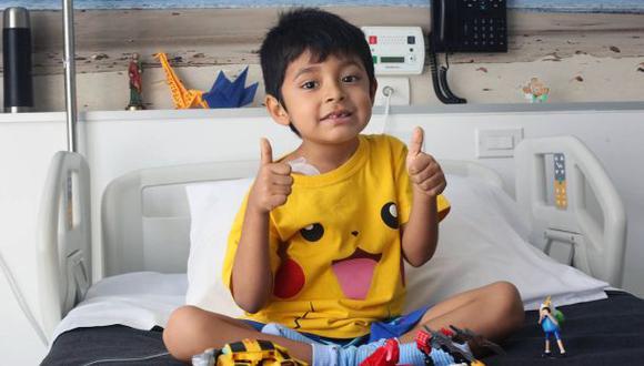 Inician cruzada por niño que padece de leucemia linfática