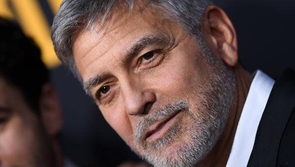 George Clooney llega a isla canaria de La Palma para grabar nueva producción de Netflix (Foto: AFP)