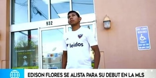 Edison Flores alista festejo de 'Orejitas' a poco del debut con DC United