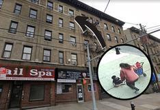 Niño de 3 años sobrevive de milagro a caída de cinco pisos de edificio en Nueva York
