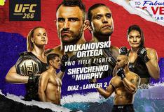 STAR HD, Valentina Shevchenko vs. Lauren Murphy en vivo: ver pelea de UFC 266 en directo