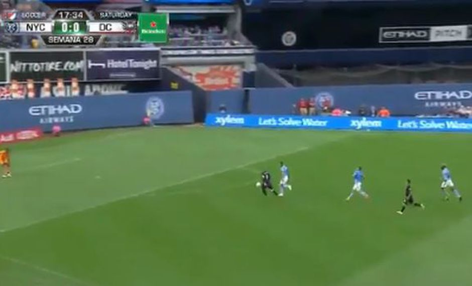 Alexander Callens ha sido titular en toda la temporada de la MLS en New York City. (Captura: YouTybe)