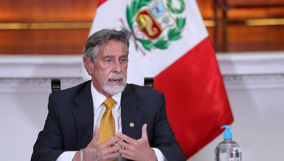 El presidente Francisco Sagasti exhortó a no participar de eventos masivos en el marco de la segunda vuelta electoral. (Foto: Presidencia)
