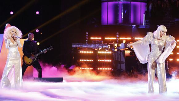 Lady Gaga compartió su nueva canción en dúo con Christina Aguilera
