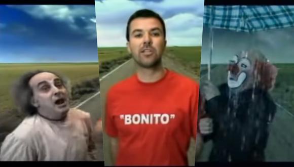 """El videoclip de """"Bonito"""" de Jarabe de Palo, cantado por Pau Donés, fue nominado a Mejor video musical versión corta en los Grammy Latino 2003. (Fotos: Warner Music)."""