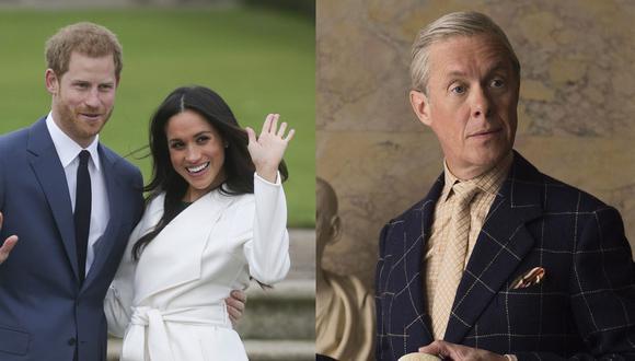 """El príncipe Harry y Meghan Markle no han sido los primeros en alejarse de la realeza británica. Este drama nos recuerda una trama de """"The Crown"""" de Netflix. Fotos: AFP/ Difusión."""
