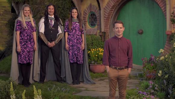 El elenco de El Hobbit te muestra lo que debes hacer al volar