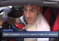 """Paolo Guerrero tras la convocatoria de Lapadula a la selección peruana: """"Estoy feliz por él"""""""