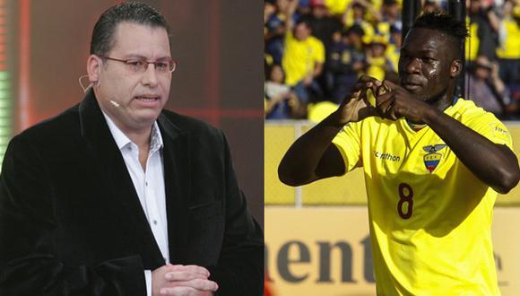 Felipe Caicedo agradeció el apoyo de los peruanos a través de su cuenta de Twitter. (Fotos: USI/El Comercio)