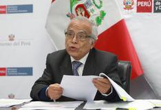 """Aníbal Torres señala que opinión del Consejo Consultivo de Comisión de Constitución """"hace tabla rasa del derecho constitucional"""""""