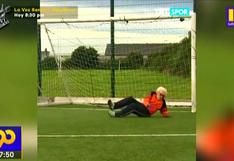 Gales del Norte: Arquero de 88 años continúa atajando para su equipo