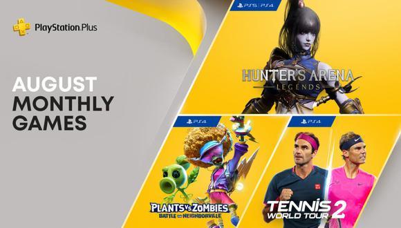 PS Plus ofrece nuevos juegos de manera gratuita este mes de agosto. (Foto: PS Plus)