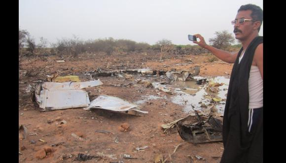 Primer video del lugar donde se estrelló avión de Air Algerie