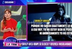 Magaly Medina pide que se investigue la denuncia de Shirley Arica contra policías que la intervinieron