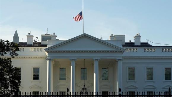 Vista de la Casa Blanca en Washington, DC, Estados Unidos. (EFE/EPA/MICHAEL REYNOLDS).