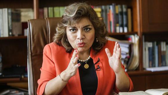 Ávalos saludó que el presidente Vizcarra haya cambiado de postura sobre su proyecto de ley. (Foto: Alonso Chero/GEC)
