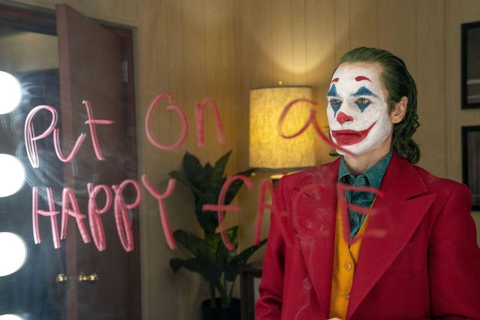 """Joaquin Phoenix en escena de """"Joker"""". (Foto: Warner)"""