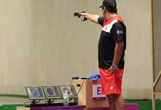 Marko Carrillo no logró clasificar a la final de pistola rápida 25m y se despide de Tokio 2020