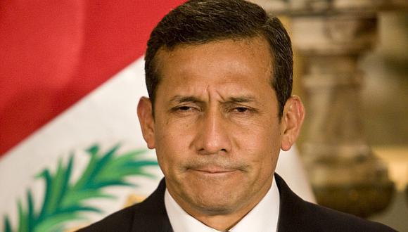 El presidente Humala registra su nivel de aprobación más bajo