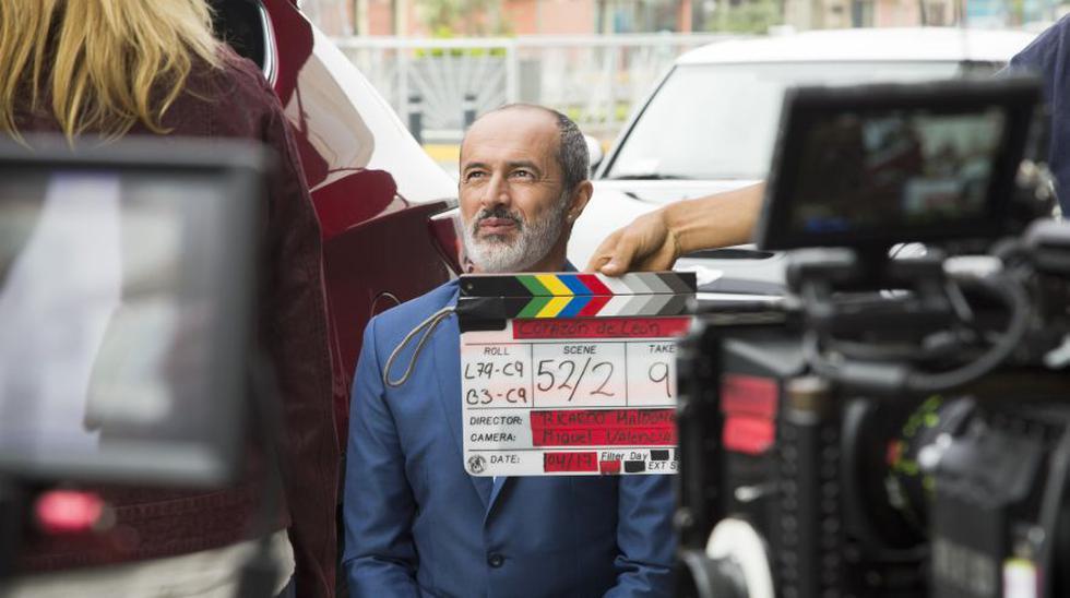 """""""El gran León"""" es la nueva propuesta cinematográfica de Tondero, con Carlos Alcántara y Gianella Neyra en los roles protagónicos. (Foto: Tondero / Daniela Talavera)"""