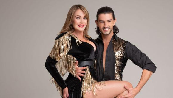 """Gaby Spanic marcó su regreso a la televisión en 2020, esta vez no en una telenovela, sino en un reality de baile: """"Dancing With the Stars"""" de Hungría (Foto: TV2)"""