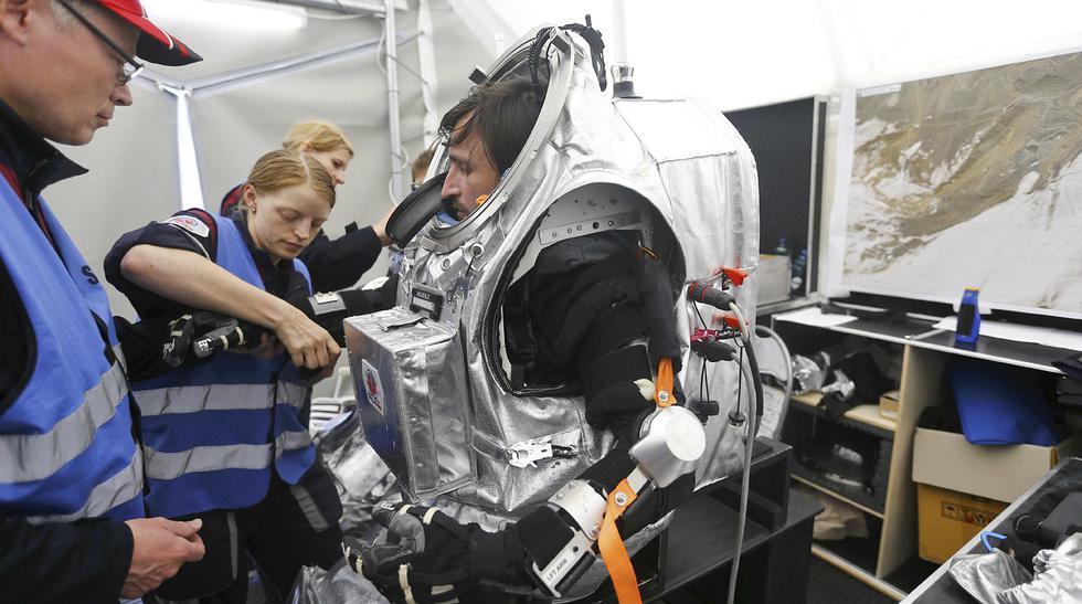Astronautas se preparan para futuras misiones a Marte - 6
