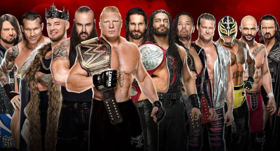 Batalla Real masculina de 30 superestrellas. (WWE)