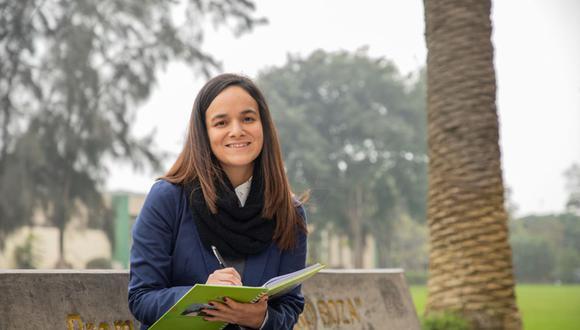 Adriana Brenis Castro viajará por segunda vez a Inglaterra por estudios. (Foto: Difusión)