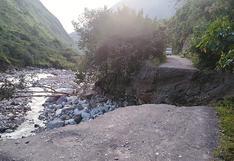Huancavelica: moradores de cuatro distritos están incomunicados desde hace 24 días tras derrumbe de carretera