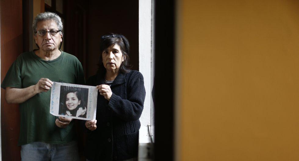 Padre de Solsiret Ramírez piden que Andrea Aguirre Concha y Kevin Villanuevacumplen no sean liberados este viernes 21 de febrero. (Foto: GEC)
