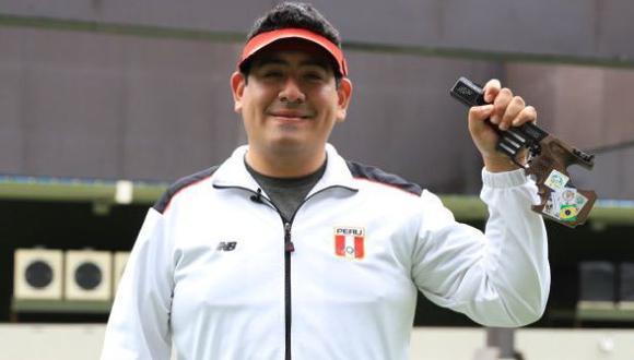 """Marko Carrillo: """"Me siento incómodo por mi actuación, pero buscaré levantar los scores en el segundo día"""". (Foto: IPD)"""