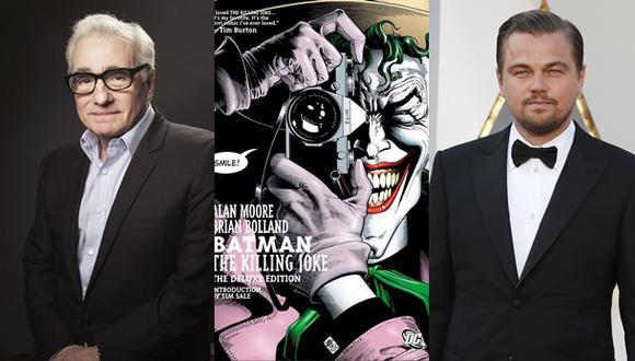 Leonardo DiCaprio sería el nuevo Joker de Martin Scorsese