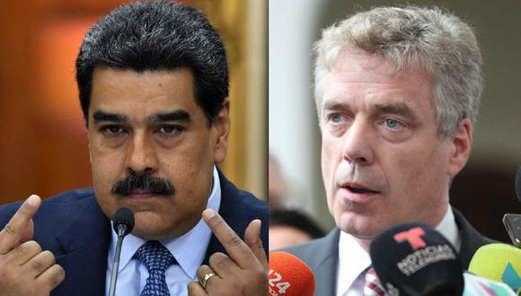 Venezuela: régimen de Nicolás Maduro da 48 horas al embajador de Alemania Daniel Martín Kriener para salir del país. (AFP / Reuters).