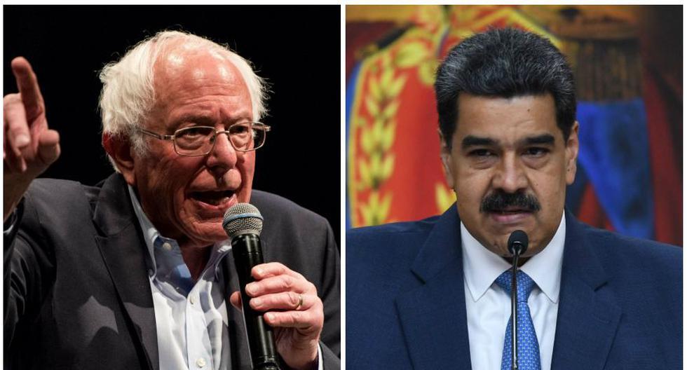 Bernie Sanders afirmó que Nicolás Maduro es un dictador. (Foto: AFP)