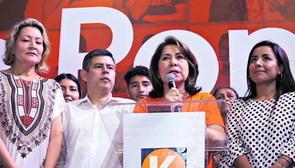 El partido de Keiko Fujimori perdió curules en los 26 distritos electorales en comparación con la elección pasada. (Foto: Jesús Saucedo / GEC)