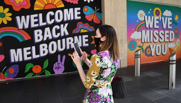 Coronavirus en Australia, Melbourne | Ultimas noticias | Último minuto: reporte de infectados y muertos hoy, domingo 1 de noviembre de 2020. | Covid-19 | (Foto: William WEST / AFP).