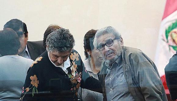 El terrorista Abimael Guzmán ha sido expulsado de la sala por mal comportamiento en tres oportunidades en este proceso penal. (Foto: Juan Ponce / El Comercio)