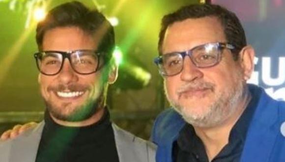 Sergio Galliani le da su respaldo a Andrés Wiese (Foto: Instagram)