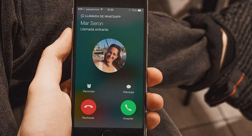 ¿Ya viste el último cambio que hizo WhatsApp a las llamadas y las videollamadas? Conoce lo que trae su nueva actualización. (Foto: WhatsApp)