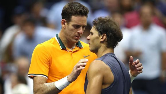 Del Potro vs. Nadal: español se retiró por molestias físicas y el argentino está en la final   US Open 2018   Foto: Agencias  