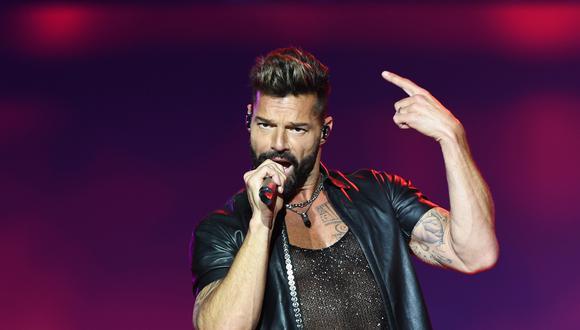 """Ricky Martin lanza por sorpresa una producción discográfica titulada """"PAUSA"""" . (Foto: AFP)"""