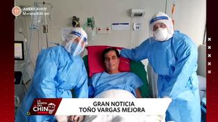Toño Vargas: Amigos de narrador deportivo festejan su mejoría