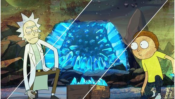 """""""Rick and Morty"""" tendrá solo cinco episodios en su cuarta temporada. Foto: Adult Swim."""