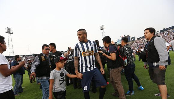 Jefferson Farfán se pronuncia sobre descenso de Alianza Lima (Foto: GEC)