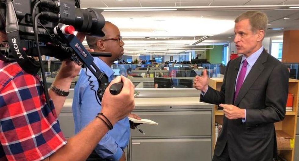 El presidente de la Fed de Dallas, Robert Kaplan. (Foto: Reuters)