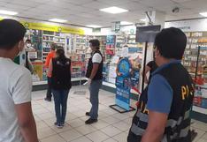 Iquitos: intervienen farmacias por precios elevados de medicamentos para el tratamiento del COVID-19
