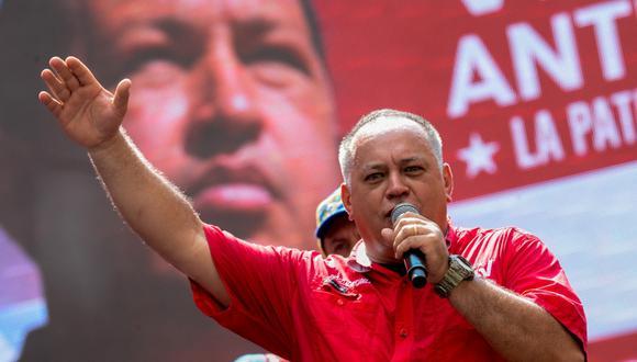 Diosdado Cabello es vicepresidente del Partido Socialista Unido de Venezuela y ahora preside el órgano más poderoso del país. (Foto: AFP/Federico Parra)