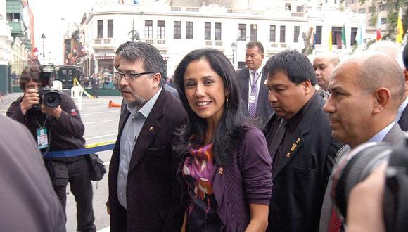 La fiscalía buscó que se dicte un impedimento de salida del país contra Nadine Heredia por seis meses.  (Foto: GEC)